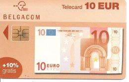 Télécarte Suisse   - Billet  10 Euros - Monnaie Money Pièce Numismatique Bank Banque  Phonecard  (G 740) - Stamps & Coins