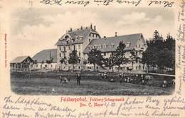 FELDBERG SCHWARZWALD GERMANY~FELDBERGERHOF~Bes C MAYER-STENGEL 1901 PHOTO POSTCARD 40507 - Feldberg