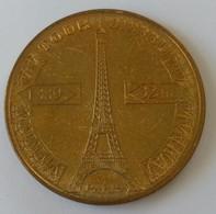 Jeton - Touristique - Monnaie De PARIS -2008 - LA TOUR EIFFEL - PARIS - 1889 - 324 M - - 2008