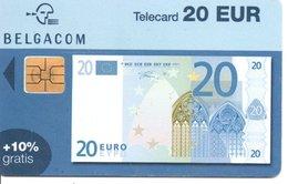Télécarte Suisse   - Billet  20 Euros - Monnaie Money Pièce Numismatique Bank Banque  Phonecard  (G 742) - Stamps & Coins