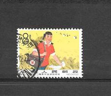 Timbre Chine 1966 - Red Cross Worker - 1949 - ... República Popular