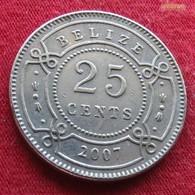 Belize 25 Cents 2007 KM# 36  Beliz Belice - Belize