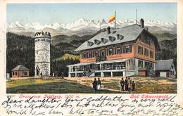 FELDBERG SCHWARZWALD GERMANY~1500m~FELDBERGTURM~GEBR. METZ 1901 KUNTSLER POSTCARD 40508 - Feldberg