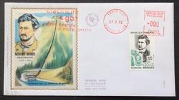 D391 «Électricité Et Gaz Deux énergies à Votre Service» 1707 Premier Jour Aristide Bergès 21/2/1972 - Postmark Collection (Covers)
