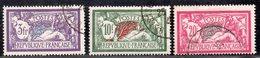 Merson N° 206 à 208  Avec Oblitération Cachet à Date D'Epoque  TB - 1900-27 Merson