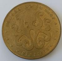Jeton - Touristique - Monnaie De PARIS - 2002 - MUSEE DE LA MER - BIARRITZ - - Monnaie De Paris