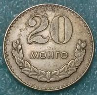 Mongolia 20 Möngö, 1970 -4484 - Mongolie