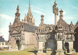 29 - Guimiliau - Le Calvaire -(1581-1588) -  éd.  Jack Couleurs De Bretagne N° 2106 - Guimiliau