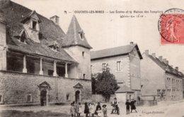 COUCHES LES MINES LES ECOLES ET LA MAISON DES TEMPLIERS 1906 TBE - France