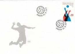 GOOD CZECH FDC 2011 -  Volleyball - FDC