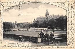 STOCKHOLM SWEDEN~KUNGSTRADGARDEN-FERDINAND HEY'L 1900s PHOTO POSTCARD 40512 - Sweden
