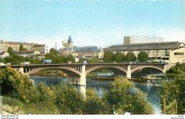 Photo Cpsm Cpm 93 SAINT-OUEN. Le Pont Péniches Et Château D'eau - Saint Ouen
