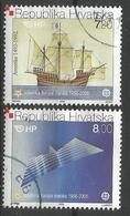 HR 2005-734-5 50A° EUROPA CEPT, CROATIA HRVATSKA, 1 X 2v, Used - Europäischer Gedanke