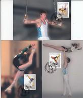GOOD FAROE ISLANDS Maxicards 2009 - Sport / Gymnastic - Faroe Islands