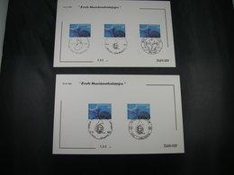 """BELG.1981 2016 FDC Filami Cards :  """" 100é Verjaardag V/d Fanfare 'de Vredekring' Uit Antwerpen """" - FDC"""