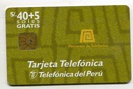 TK 05845 PERU - Chip - Peru