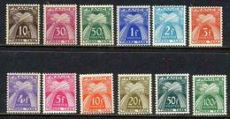 FRANCE TAXES Yv 78/89 MNH Neufs - - Taxes