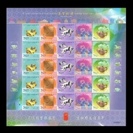 Macao 2019 Mih. 2221/25 Lunar New Year. Year Of The Pig (M/S) MNH ** - 1999-... Chinese Admnistrative Region