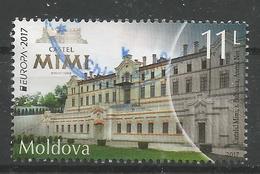 MD 2017-13 EUROPA CEPT, MOLDAVIA, 1 X 1v, Used - 2017