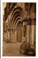 CPA- Carte Postale France - Maillezais -Façade De L'Eglise Romane -VM2897 - Maillezais