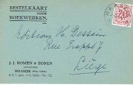 PK Publicitaire MAASEIK 1947 - J.J. ROMEN & ZONEN - Uitgevers - Maaseik