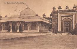 "M08059 ""SALIM CHISTI'S TOMB,AGRA ""   CART. POST.ORIG. SPED.1920 - India"