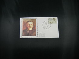 """BELG.1981 2009 FDC Zijde/soie (Ronse) : """" Dr.Ovide Decroly """" - FDC"""