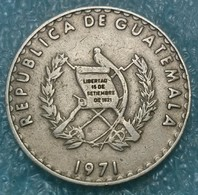 Guatemala 25 Centavos, 1971 -4492 - Guatemala