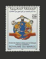 MAROC MOROCCO Dialogue Among Civilizations Civilisations Dialog Dialogo Dijalog JOINT ISSUE 2001 MNH ** - Emissions Communes
