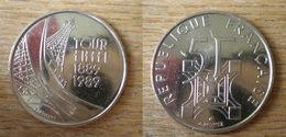 France 5 Francs 1989 Commemo 100 Ans Tour Eiffel Que Prix + Port Commemorative Coin Piece Frcs Frs Frc Skrill Bitcoin OK - France