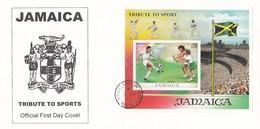 GOOD JAMAICA FDC 1999 - Sport / Ball Games - Jamaica (1962-...)