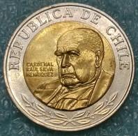 Chile 500 Pesos, 2010 -4493 - Chile