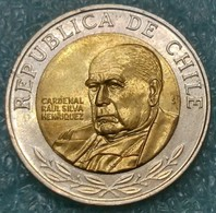 Chile 500 Pesos, 2010 -4493 - Cile