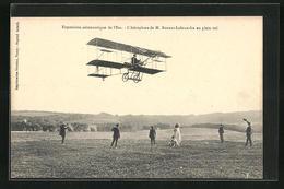 AK Exposition Aéronautique De L`Est, Pilot M. Bonnet-Labranche In Seinem Flugzeug - Avions