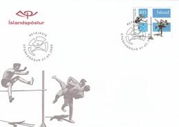 GOOD ICELAND FDC 2009 - Sport / Athletics / Wrestling - FDC