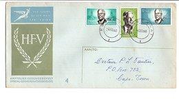 AFRIQUE DU SUD LETTRE INTERIEURE FDC 1966 - Afrique Du Sud (1961-...)