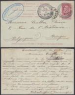 Belgique - EP Carte Réponse De Constantinople Vers Bruges 1904 RR (DD) DC3043 - Stamped Stationery