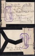 Pays-Bas - Aardenburck Vers Armée Belge + Censure 20/10/16 (DD)DC3062 - Period 1891-1948 (Wilhelmina)