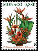 Monaco 2019 Mih. 3432 Flora. Flowers. International Bouquet Competition 2019 MNH ** - Neufs