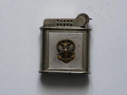 Ancien Briquet Légion Indochine? Afrique? Drago Nice Paris - Briquets