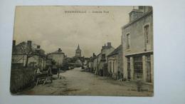 Carte Postale (  R9 ) Ancienne De Bizeneuille , Grande Rue - France