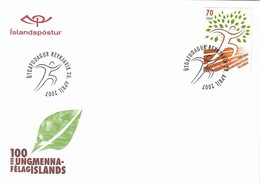 GOOD ICELAND FDC 2007 - Sport / Islands Games - FDC
