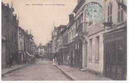 27 Eure -  LOUVIERS - La Rue Du Neubourg - Louviers