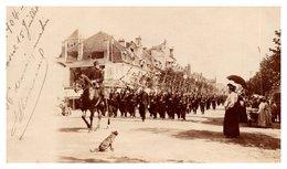 Cosne - Carte-photo Défilé 1904 - Cosne Cours Sur Loire