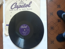 Capitol   -   1953.  Nr. Cap.276.  Pee Wee Hunt - 78 G - Dischi Per Fonografi