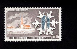 762546758 1984 SCOTT 105 106 POSTFRIS  MINT NEVER HINGED EINWANDFREI  (XX)  GLACIOLOGY SCIENTISTS EXAMINING GLACIER - Terres Australes Et Antarctiques Françaises (TAAF)