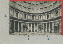 CARTOLINA NV ITALIA - ROMA - Interno Del Pantheon E Monumento A Vittorio Emanuele II - Ernesto Richter - 9 X 14 - Panthéon