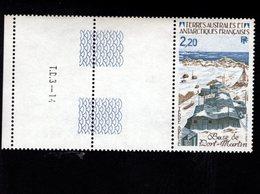 762547505 1985 SCOTT 116 POSTFRIS  MINT NEVER HINGED EINWANDFREI  (XX)  PORT MARTIN AND LABELS - Terres Australes Et Antarctiques Françaises (TAAF)