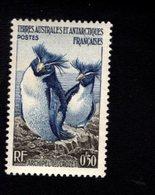 762548600 1956 SCOTT 2 POSTFRIS  MINT NEVER HINGED EINWANDFREI  (XX) ROCKHOPPER PENGUINS CROZET ARCHIPELAGO - Terres Australes Et Antarctiques Françaises (TAAF)