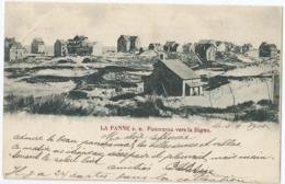 De Panne - La Panne S.m. - Panorama Vers La Digue - 1900 - De Panne